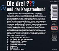 Die drei Fragezeichen - Hörbuch Band 3: Die drei Fragezeichen und der Karpatenhund (1 Audio-CD) - Produktdetailbild 1