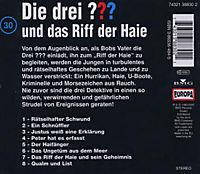 Die drei Fragezeichen - Hörbuch Band 30: Die drei Fragezeichen und das Riff der Haie (1 Audio-CD) - Produktdetailbild 1
