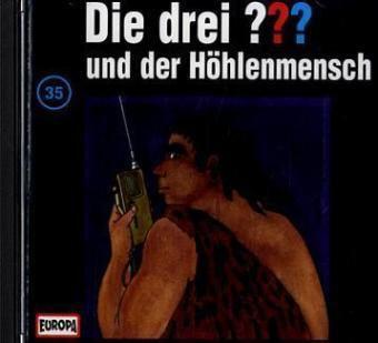 Die drei Fragezeichen - Hörbuch Band 35: Die drei Fragezeichen und der Höhlenmensch (1 Audio-CD), Die Drei ??? 35