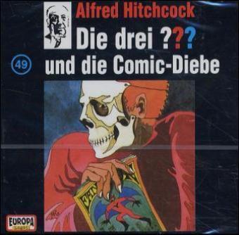 Die drei Fragezeichen - Hörbuch Band 49: Die drei Fragezeichen und die Comic Diebe (1 Audio-CD), Die Drei ??? 49