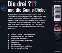 Die drei Fragezeichen - Hörbuch Band 49: Die drei Fragezeichen und die Comic Diebe (1 Audio-CD) - Produktdetailbild 1