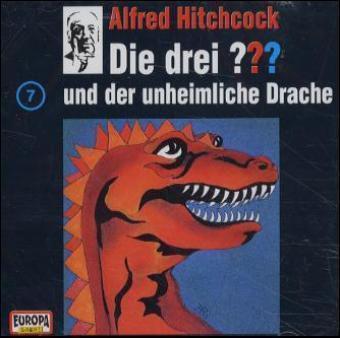 Die drei Fragezeichen - Hörbuch Band 7: Die drei Fragezeichen und der unheimliche Drache (1 Audio-CD), Die Drei ??? 7