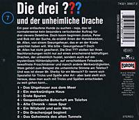 Die drei Fragezeichen - Hörbuch Band 7: Die drei Fragezeichen und der unheimliche Drache (1 Audio-CD) - Produktdetailbild 1