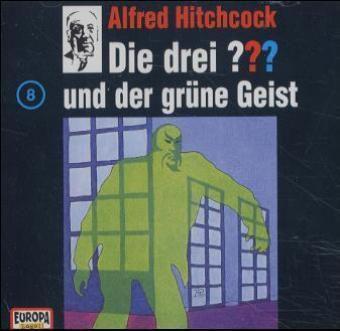 Die drei Fragezeichen - Hörbuch Band 8: Die drei Fragezeichen und der grüne Geist (1 Audio-CD), Die Drei ??? 8