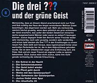 Die drei Fragezeichen - Hörbuch Band 8: Die drei Fragezeichen und der grüne Geist (1 Audio-CD) - Produktdetailbild 1