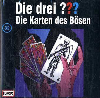 Die drei Fragezeichen - Hörbuch Band 82: Die Karten des Bösen (1 Audio-CD), Die Drei ??? 82
