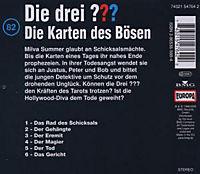 Die drei Fragezeichen - Hörbuch Band 82: Die Karten des Bösen (1 Audio-CD) - Produktdetailbild 1