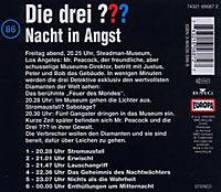Die drei Fragezeichen - Hörbuch Band 86: Nacht in Angst (1 Audio-CD) - Produktdetailbild 1