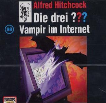 Die drei Fragezeichen - Hörbuch Band 88: Vampir im Internet (1 Audio-CD), Die Drei ??? 88