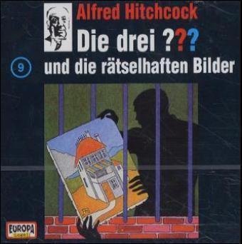 Die drei Fragezeichen - Hörbuch Band 9: Die drei Fragezeichen und die rätselhaften Bilder (1 Audio-CD), Die Drei ??? 9