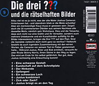 Die drei Fragezeichen - Hörbuch Band 9: Die drei Fragezeichen und die rätselhaften Bilder (1 Audio-CD) - Produktdetailbild 1