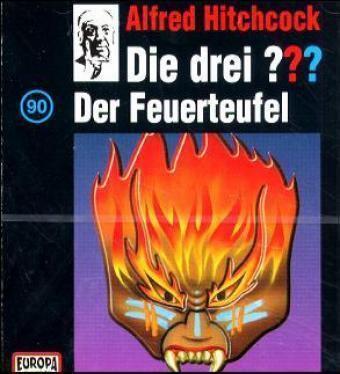 Die drei Fragezeichen - Hörbuch Band 90: Der Feuerteufel (1 Audio-CD), Die Drei ??? 90