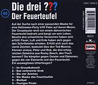 Die drei Fragezeichen - Hörbuch Band 90: Der Feuerteufel (1 Audio-CD) - Produktdetailbild 1