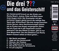 Die drei Fragezeichen - Hörbuch Band 93: Die drei Fragezeichen und das Geisterschiff (1 Audio-CD) - Produktdetailbild 1