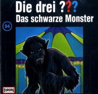 Die drei Fragezeichen - Hörbuch Band 94: Das schwarze Monster (1 Audio-CD), Die Drei ??? 94