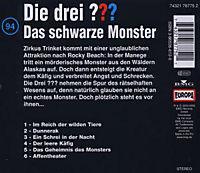 Die drei Fragezeichen - Hörbuch Band 94: Das schwarze Monster (1 Audio-CD) - Produktdetailbild 1