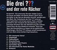Die drei Fragezeichen - Hörbuch Band 96: Die drei Fragezeichen und der rote Rächer (1 Audio-CD) - Produktdetailbild 1