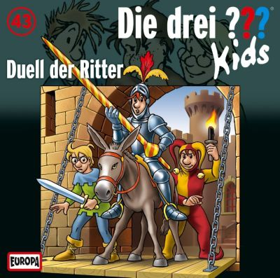 Die drei Fragezeichen-Kids Band 43: Duell der Ritter (Audio-CD), Ulf Blanck