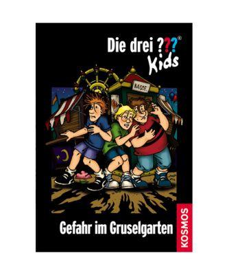 Die drei Fragezeichen-Kids Band 6: Gefahr im Gruselgarten - Ulf Blanck pdf epub