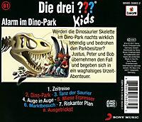 Die drei ??? Kids - Alarm im Dino-Park (Folge 61) - Produktdetailbild 1