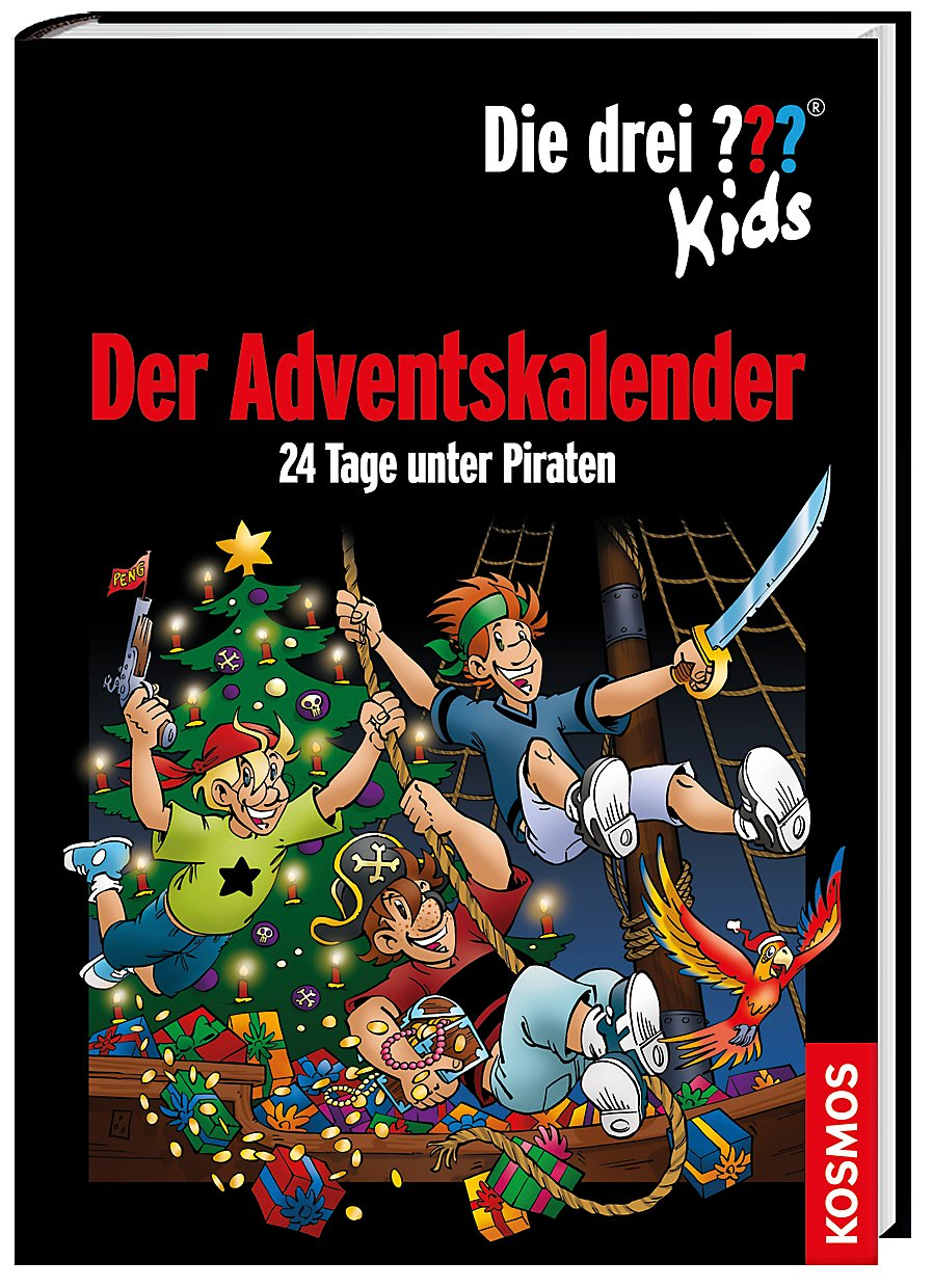 Die Drei Kids Der Adventskalender 24 Tage Wiring Library Hyundai Videoke Remote Diagram Unter Piraten