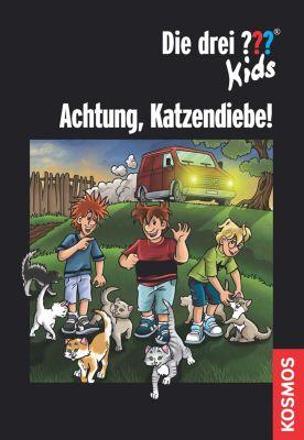 Die drei ??? Kids: Die drei ??? Kids, Achtung, Katzendiebe! (drei Fragezeichen Kids), Regina Nössler, Karen-Susan Fessel