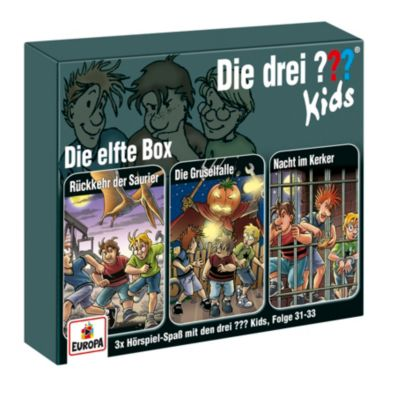Die drei ??? Kids - Die elfte Box (Folgen 31, 32, 33), Boris Pfeiffer, Ulf Blanck