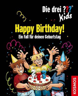 Die drei ???-Kids - Happy Birthday!, Boris Pfeiffer