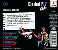 Die drei ???-Kids - Monster-Wolken (Folge 63) - Produktdetailbild 1
