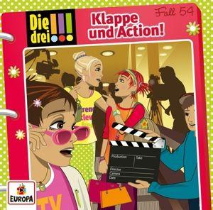 Die drei !!! - Klappe und Action (Folge 54), Die drei !!!