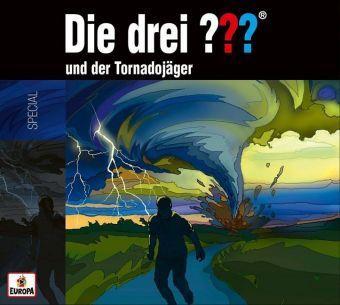 Die drei ??? und der Tornadojäger, 1 Audio-CD, Die drei ???