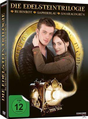 Die Edelsteintrilogie - Rubinrot, Saphirblau, Smaragdgrün DVD-Box, Kerstin Gier