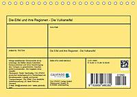 Die Eifel und ihre Regionen - Die Vulkaneifel (Tischkalender 2019 DIN A5 quer) - Produktdetailbild 9