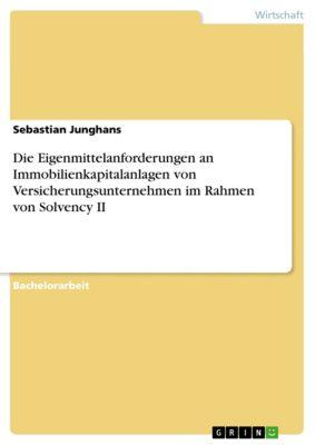 Die Eigenmittelanforderungen an Immobilienkapitalanlagen von Versicherungsunternehmen im Rahmen von Solvency II, Sebastian Junghans