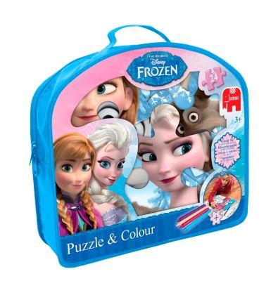 Die Eiskönigin - Völlig unverfroren (Kinderpuzzle), Puzzle & Colour