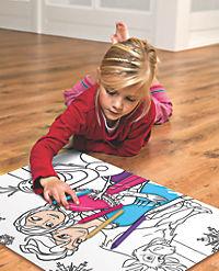 Die Eiskönigin - Völlig unverfroren (Kinderpuzzle), Puzzle & Colour - Produktdetailbild 1