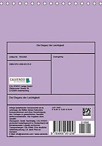 Die Eleganz der Leichtigkeit (Tischkalender 2019 DIN A5 hoch) - Produktdetailbild 5