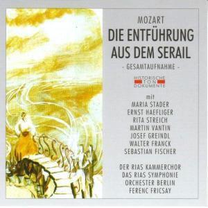 Die Entführung Aus Dem Serail, Rias Kammerchor, Rias Sinf.orch.
