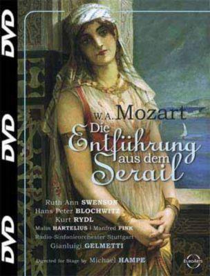 Die Entführung aus dem Serail, 1 DVD, Wolfgang Amadeus Mozart