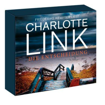 Die Entscheidung, 10 Audio-CDs, Charlotte Link