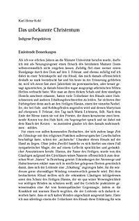Die ethnologische Konstruktion des Christentums - Produktdetailbild 10