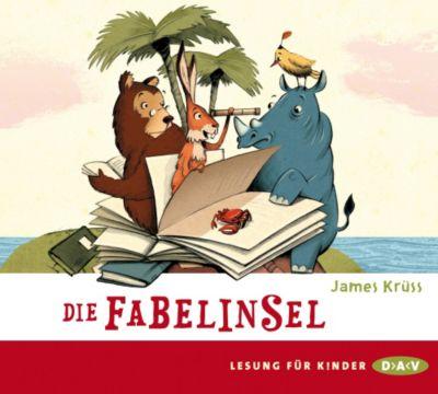 Die Fabelinsel, 2 Audio-CDs, James Krüss