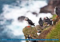 Die Färöer: Dänemarks Inseln im Nordatlantik (Wandkalender 2019 DIN A2 quer) - Produktdetailbild 1
