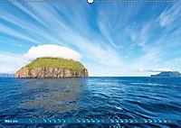 Die Färöer: Dänemarks Inseln im Nordatlantik (Wandkalender 2019 DIN A2 quer) - Produktdetailbild 3