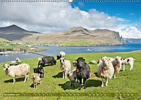Die Färöer: Dänemarks Inseln im Nordatlantik (Wandkalender 2019 DIN A2 quer) - Produktdetailbild 11