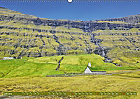 Die Färöer: Dänemarks Inseln im Nordatlantik (Wandkalender 2019 DIN A2 quer) - Produktdetailbild 7