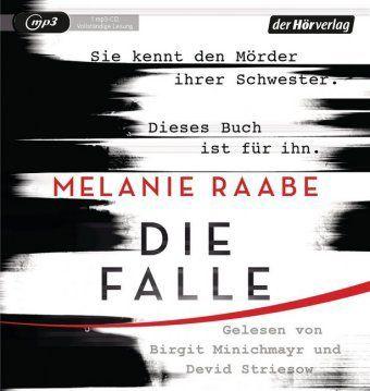 Die Falle, 1 MP3-CD, Melanie Raabe