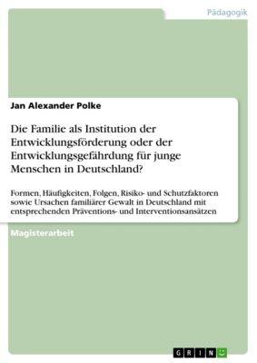 Die Familie als Institution der Entwicklungsförderung oder der Entwicklungsgefährdung für junge Menschen in Deutschland?, Jan Alexander Polke