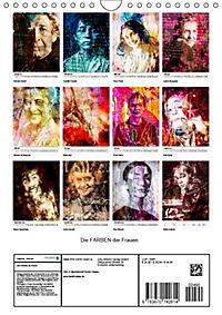 Die FARBEN der Frauen (Wandkalender 2019 DIN A4 hoch) - Produktdetailbild 10