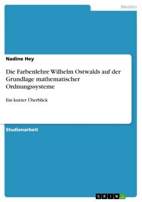 Die Farbenlehre Wilhelm Ostwalds auf der Grundlage mathematischer Ordnungssysteme, Nadine Hey